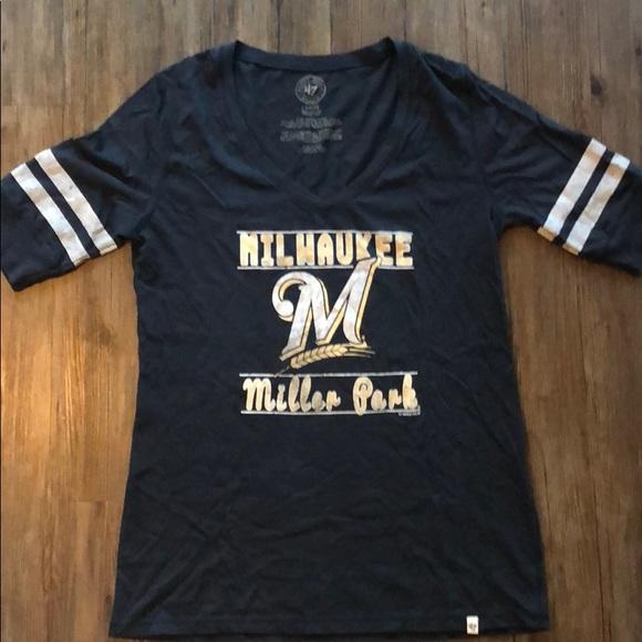 Tops - Women's Milwaukee Brewer Tee
